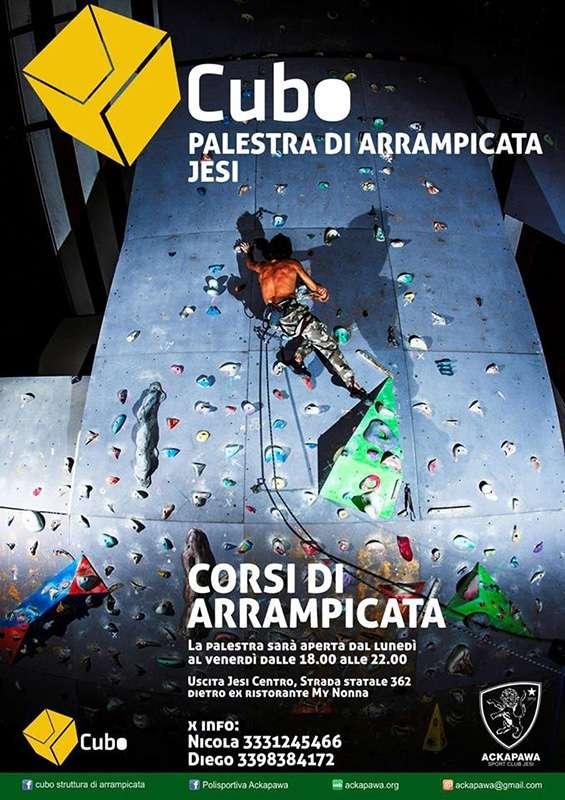 Palestra di arrampicata CUBO-Jesi (An)