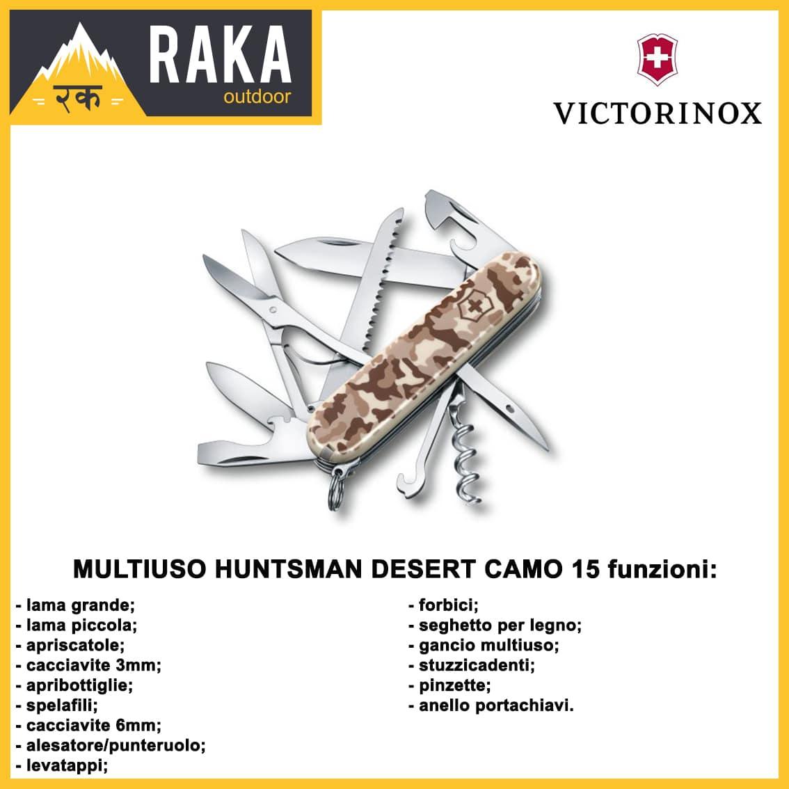 MULTIUSO HUNTSMAN 15 FUNZIONI DESERT CAMO