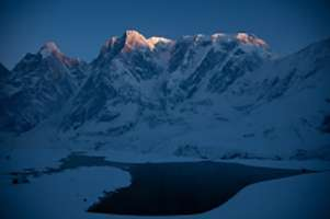 ANNAPURNA III UNCLIMBED by DAVID LAMA