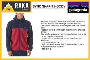 PATAGONIA SYNCH SNAP-T HOODY