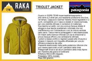 PATAGONIA TRIOLET GTX JACKET