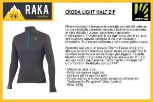 KARPOS CRODA LIGHT HALF ZIP