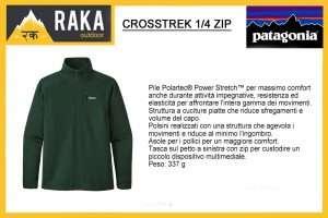 PATAGONIA CROSSTREK 1/4 ZIP