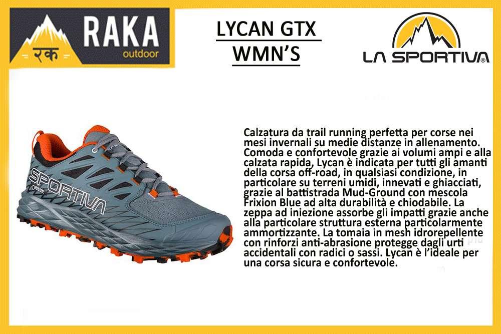 LA SPORTIVA LYCAN GTX WMN'S
