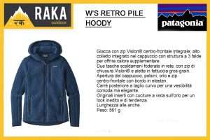 PATAGONIA W'S RETRO PILE HOODY