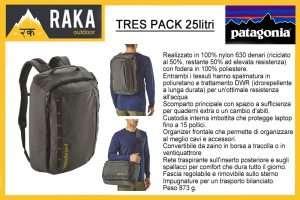 PATAGONIA TRES PACK 25litri