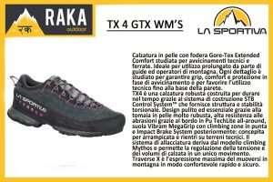 LA SPORTIVA TX4 GTX WMN'S