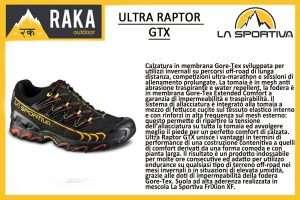 LA SPORTIVA ULTRA RAPTOR GTX