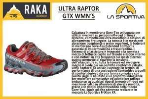 LA SPORTIVA ULTRA RAPTOR GTX WMN'S