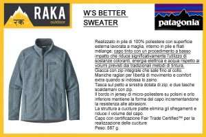 PATAGONIA W'S BETTER SWEATER