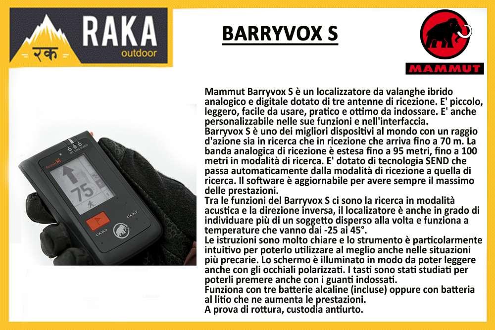 MAMMUT BARRYVOX S