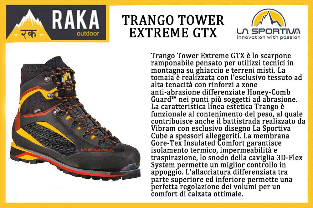 LA SPORTIVA TRANGO TOWER EXTREME GTX