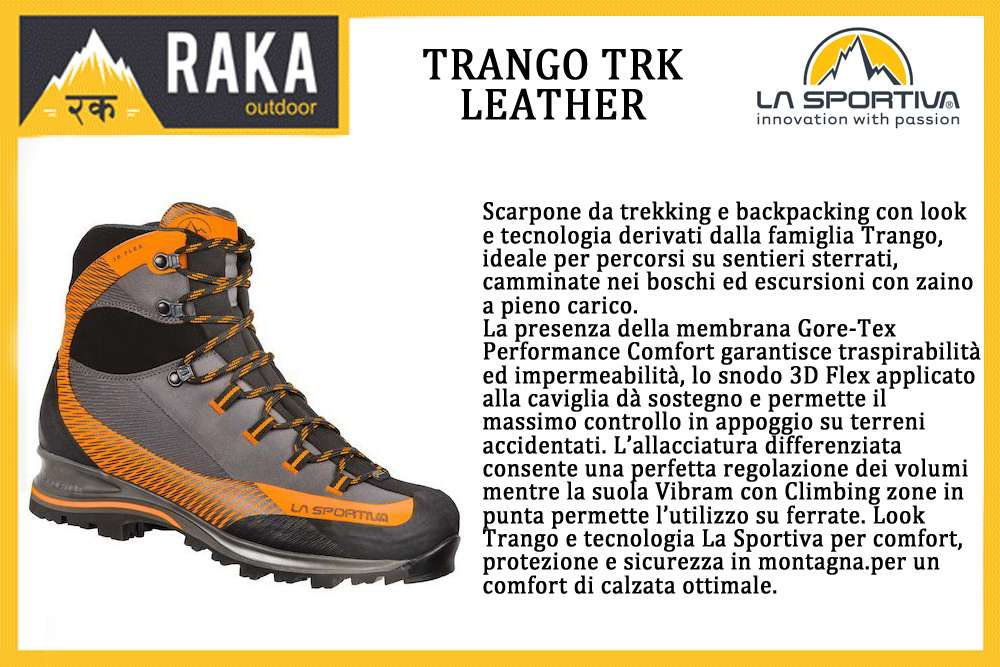 LA SPORTIVA TRANGO TRK LEATHER