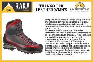 LA SPORTIVA TRANGO TRK LEATHER WM'S