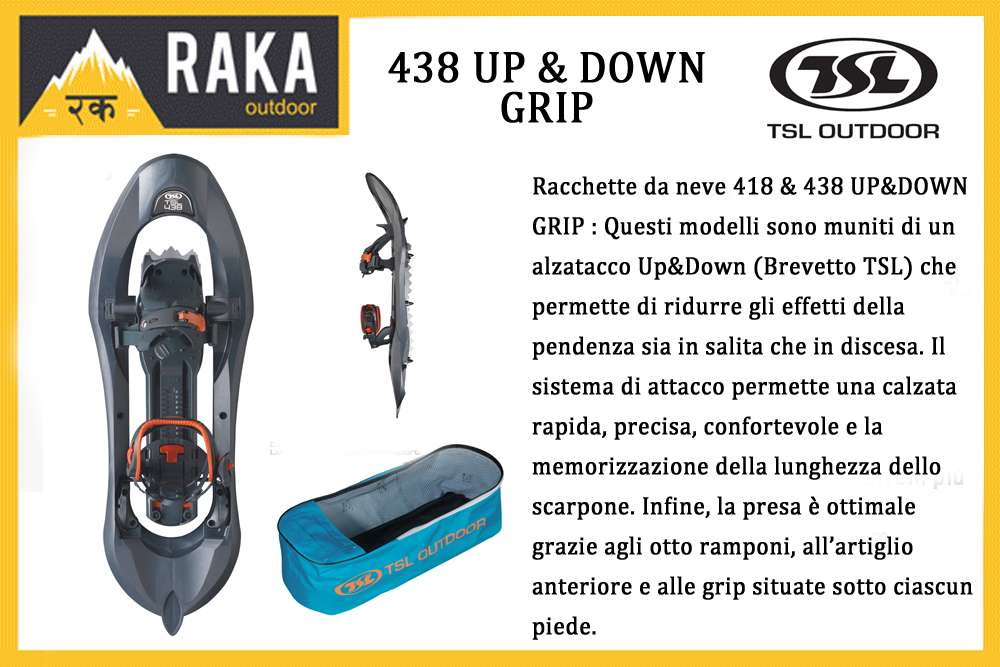 TSL 438 UP & DOWN GRIP