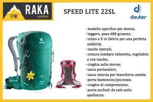 DEUTER SPEED LITE 22SL