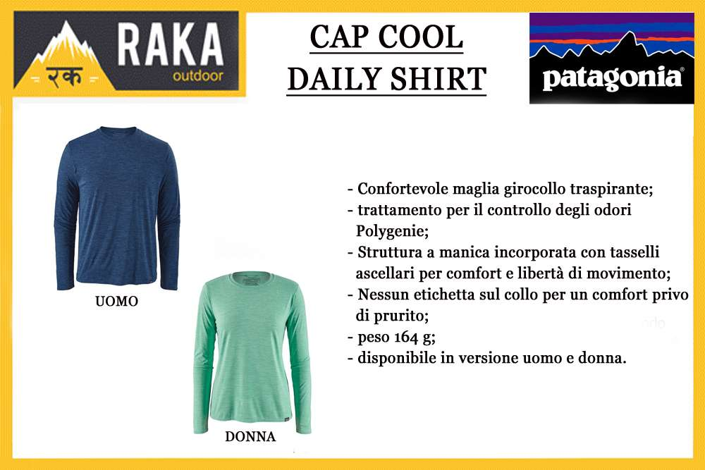 PATAGONIA L/S CAP COOL DAILY SHIRT