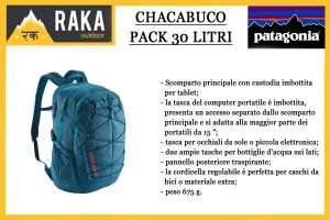 PATAGONIA CHACABUCO PACK 30 LITRI