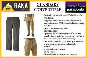 PATAGONIA QUANDARY CONVERTIBLE PANT
