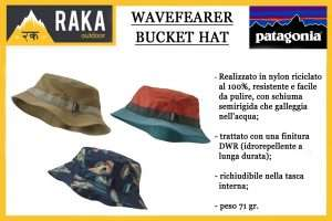 PATAGONIA WAVEFEARER BUCKET HAT