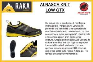 MAMMUT ALNASCA KNIT LOW GTX