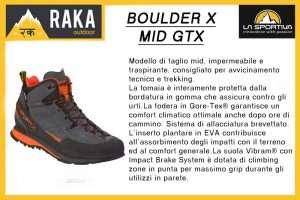 LA SPORTIVA BOULDER X MID GTX