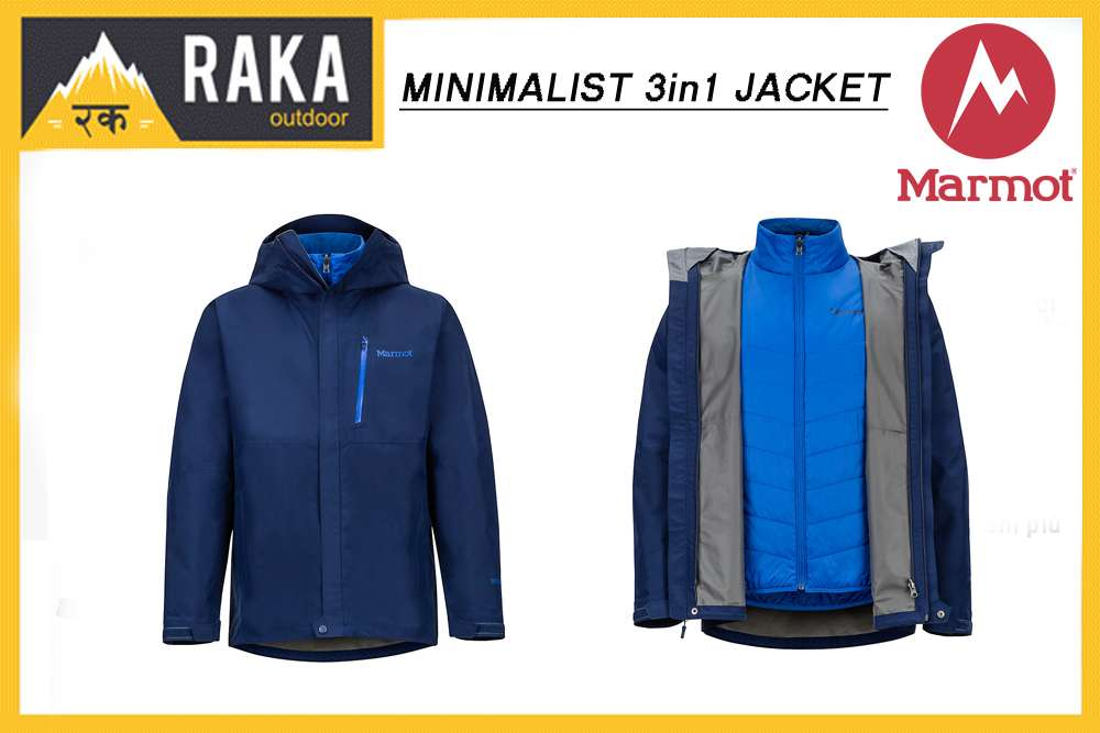 MARMOT MINIMALIST 3in1 JACKET