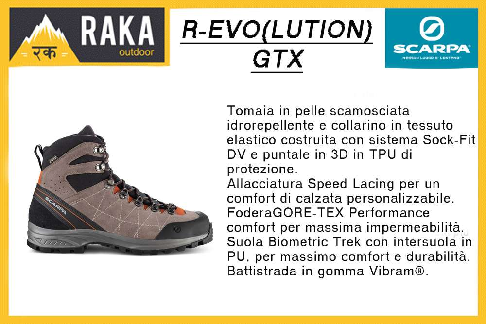 SCARPA R-EVO(LUTION) GTX