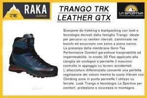 LA SPORTIVA TRANGO TRK LEATHER GTX